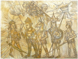 the sword of light and illustration by jesús nicolás cuéllar
