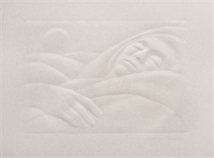 repose by george tooker