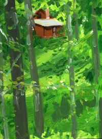brown house 1 by alex katz