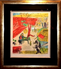 la revolution by marc chagall