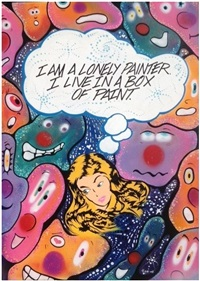 i am a lonely painter. i live in a box by quik (lin felton)