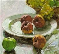 stillleben mit früchten by carl moll
