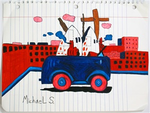 "central avenue"" (after guston) by michael scoggins"