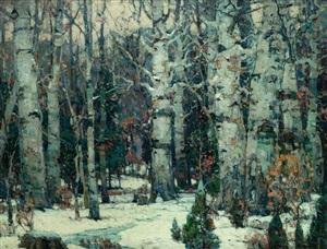 woodland idyll by john fabian carlson