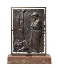 bronze study by giacomo manzù