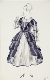 dufy-poiret, modèle (réf 1) by raoul dufy