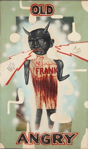 old angry frank by fred stonehouse