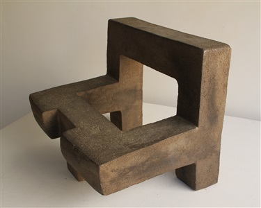 master of materials steel fired clay collage by eduardo chillida