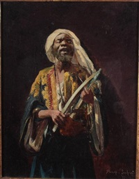 moor musician by hovsep pushman