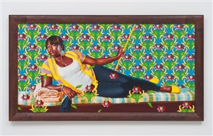 the marchioness of santa cruz (the world stage: haiti) by kehinde wiley