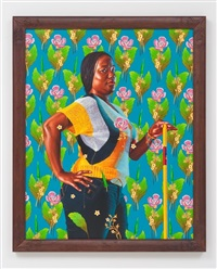 louis xiv of france (the world stage: haiti) by kehinde wiley
