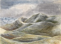 maiden castle by paul nash