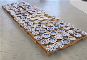 ming porcelain (wrecked, looted, and confiscated, south china sea) by liz glynn