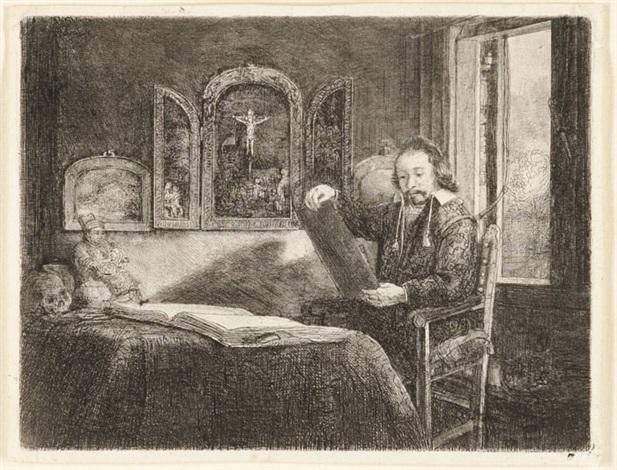 abraham francen, apothecary by rembrandt van rijn