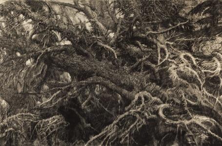 landscape #9 by hyman bloom
