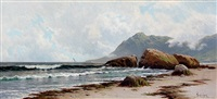 low tide, grand manan by alfred thompson bricher