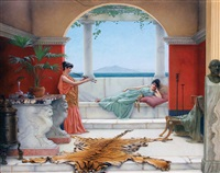 the sweet siesta by john william godward