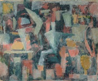untitled abstract by maurice golubov