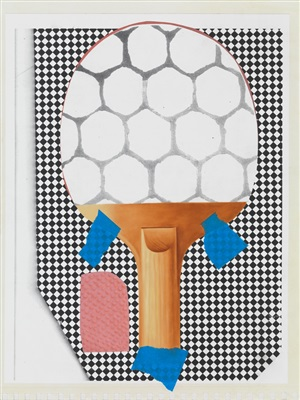 ping pong paddle by meg cranston