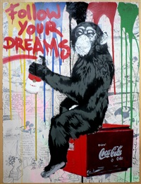 every day life – follow your dreams (comic) by mr. brainwash