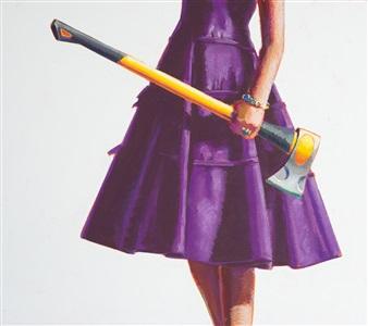 purple study by kelly reemtsen
