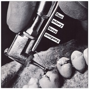 untitled your misery loves company by barbara kruger