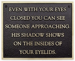 living series: even with your eyes closed … by jenny holzer