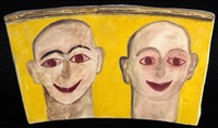 palladium door iv by francesco clemente