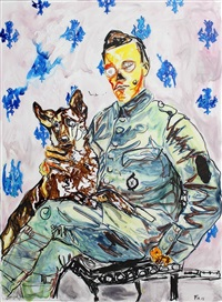 man and dog by farley aguilar