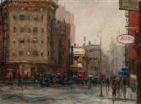 perry street and seventh avenue by alfred s. mira