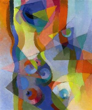 synchromy, kyoto by stanton macdonald-wright