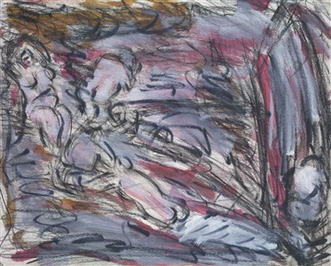 from cézanne pastoral idyll by leon kossoff