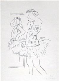 danseuse au miroir by henri matisse