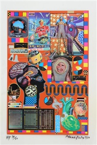 hollywood wax museum by sir eduardo paolozzi