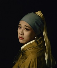 girl with a pearl earring by han jinpeng