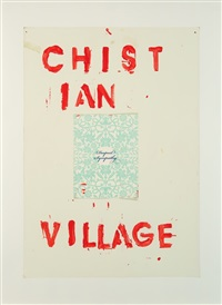 christian village by lyle ashton harris