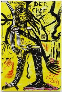 dr. mingthingflashding (arktis der kunst: gehorche) by jonathan meese