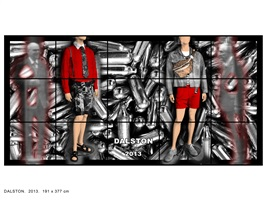 dalston by gilbert & george