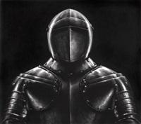 untitled (black knight) by robert longo