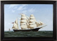 the mary hasbrouck at sea by warren w. sheppard