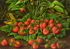 strawberry bunch by levi wells prentice