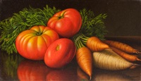 vegetables on a table by levi wells prentice