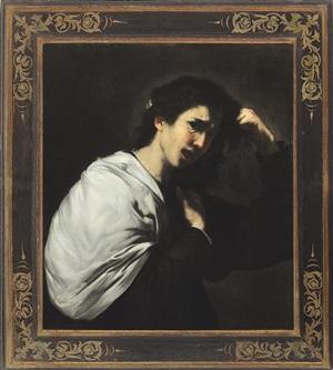 a desperate woman (tamar?) by jusepe de ribera