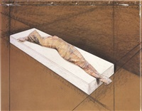 wrapped woman by christo and jeanne-claude