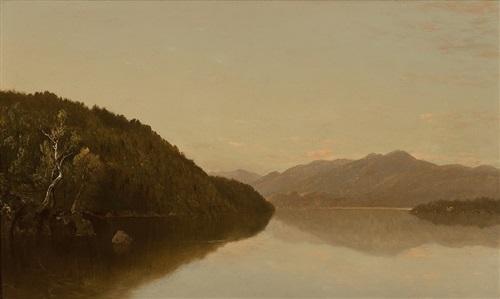 lake george by john frederick kensett