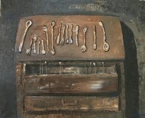 armario con cucharitas by ignacio iturria