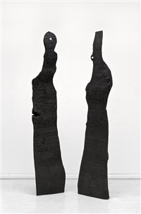 king and queen by david nash