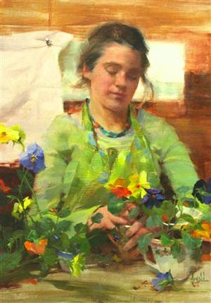 pansies for sarah by carol arnold