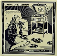 c'mon everybody by shepard fairey