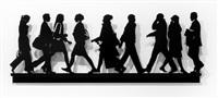 city walkers ll by julian opie